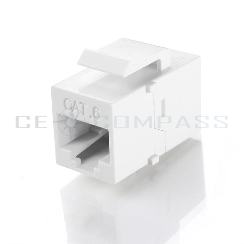 rj45 keystone cat6 cat5e 8p8c ethernet network jack port. Black Bedroom Furniture Sets. Home Design Ideas