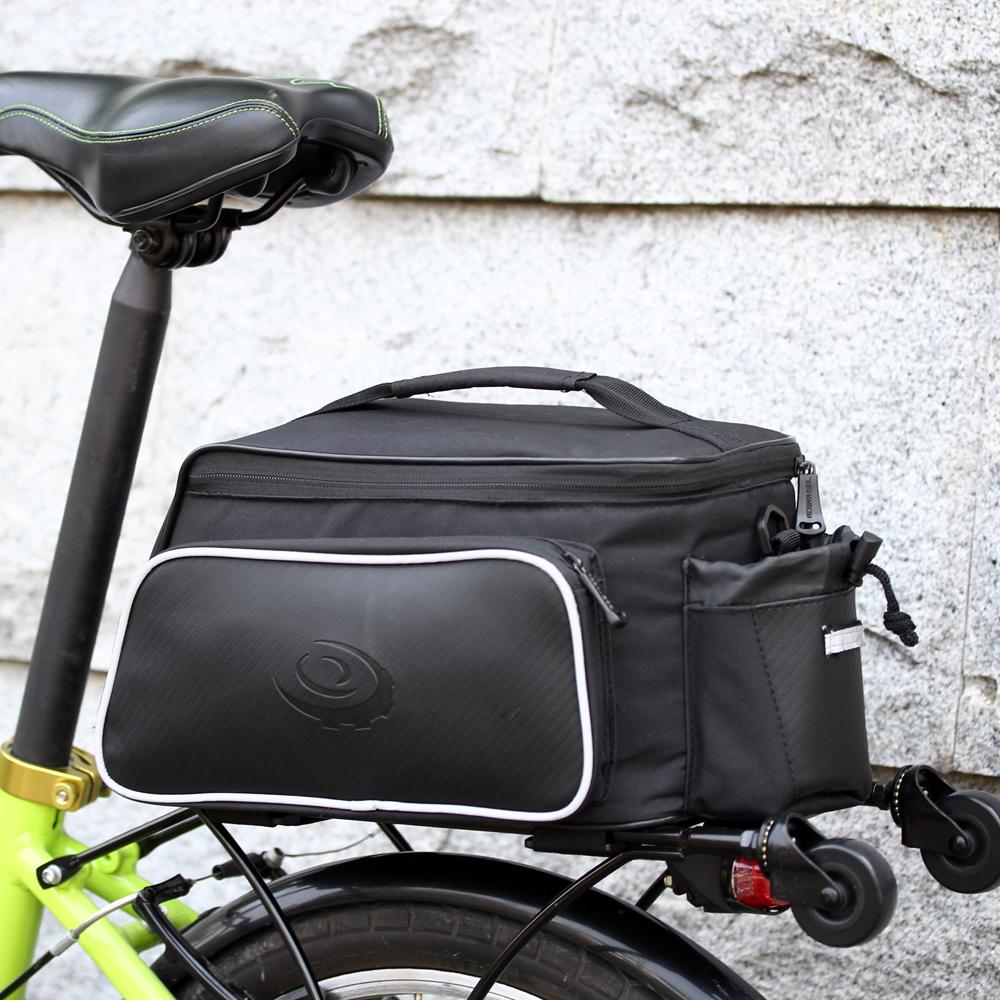 BICYCLE Bike Rear Tail Seat Pannier Bag Pouch Trunk Rack ...