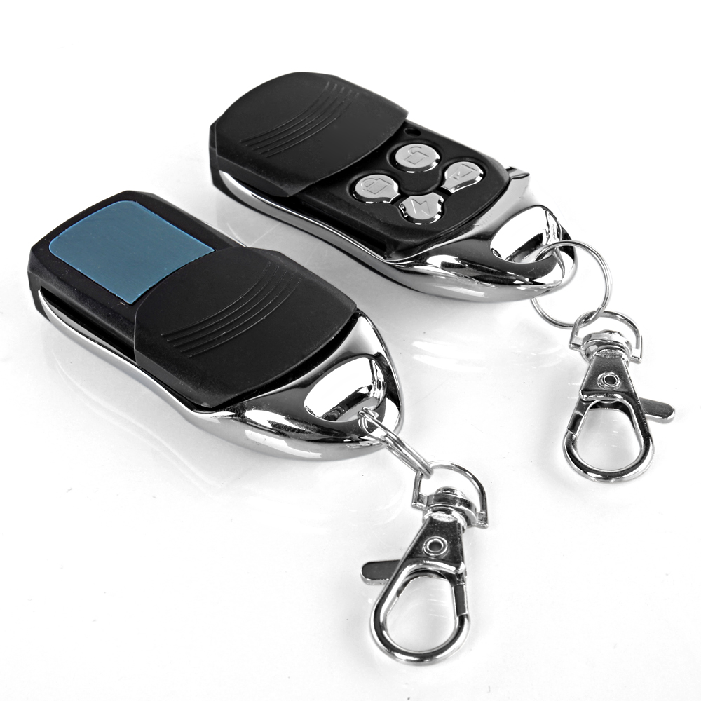 4 Door Power Central Lock Kit W 2 Keyless Entry Car Remote Control