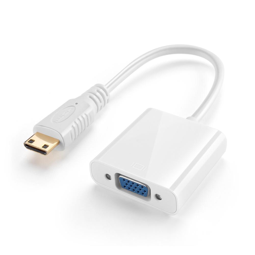 CE Compass White Premium Mini HDMI Male To VGA Female M/F Adapter Converter AV TV Cable at Sears.com