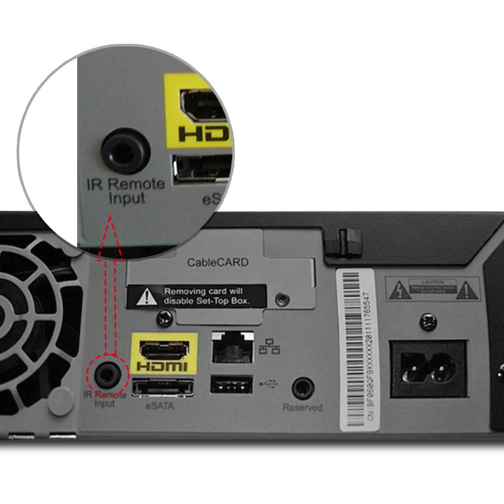 ir receiver cable external 38 56khz infrared sensor. Black Bedroom Furniture Sets. Home Design Ideas