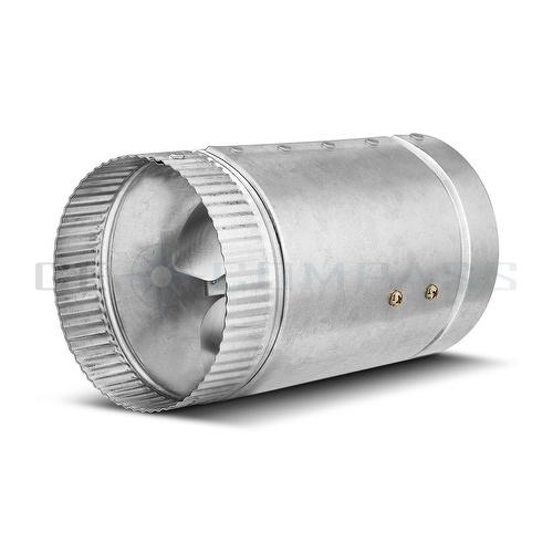 6 Duct Booster Fans Quiet : Quot inline duct fan cfm booster exhaust blower aluminum