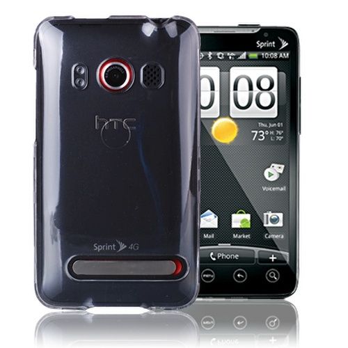 HTC-EVO-4G-Colorful-Design-CRYSTAL-CLEAR-Hard-Case-Cover-Phone-Accessory