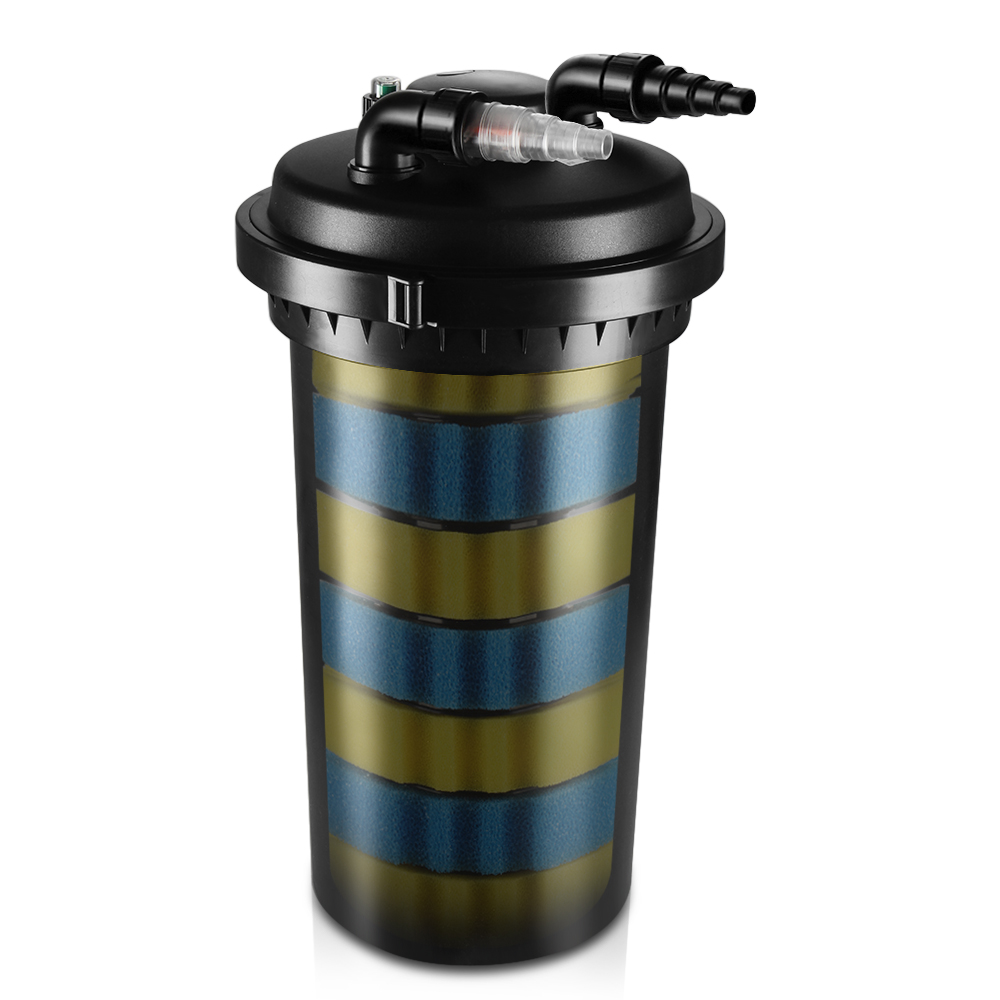 Water pond filters house of fishery lovers for Diy pressurized pond filter