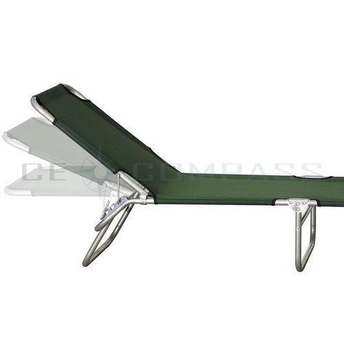 Portable Lawn Chair Folding Reclining Outdoor Chaise Lounge Pool Beach Patio