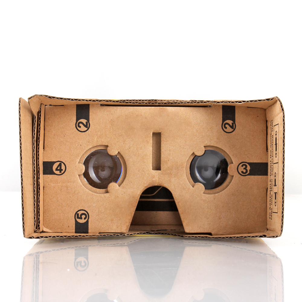 A simple and inexpensive DIY Google virtual reality glasses