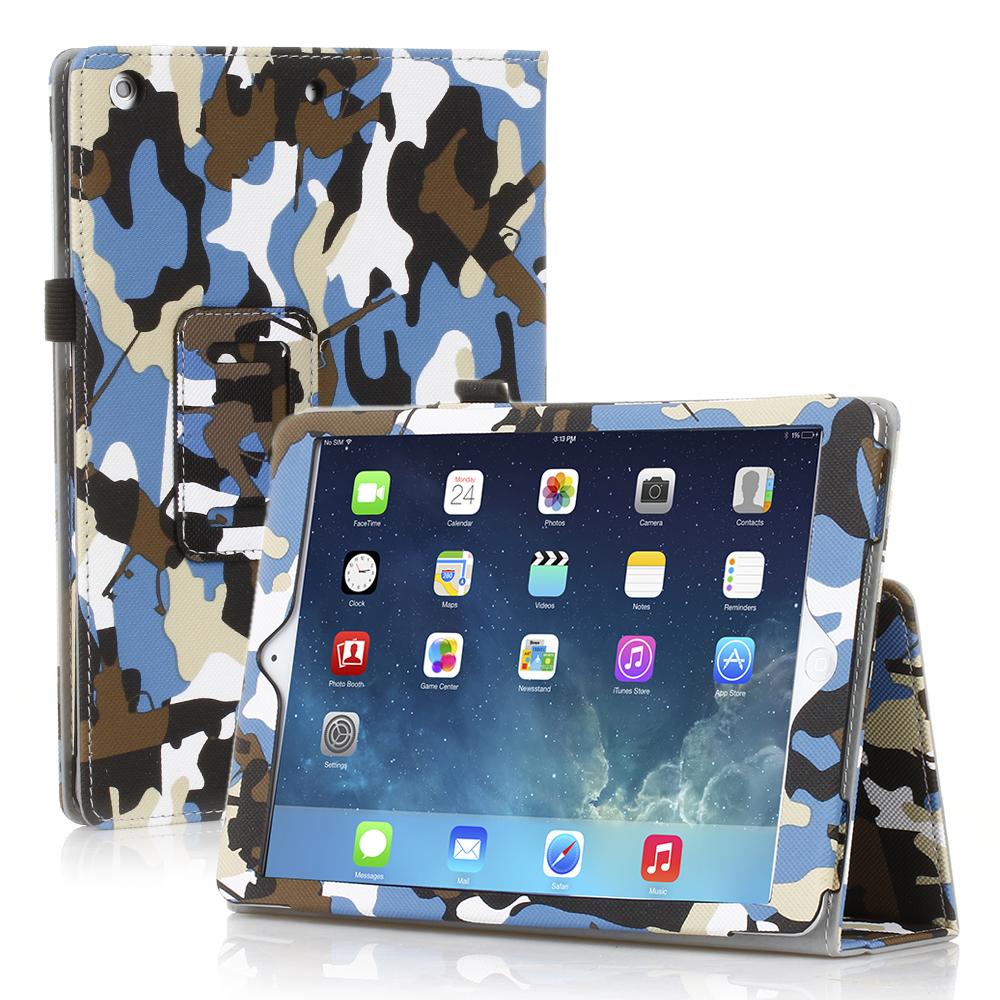 For iPad Air 2 1 iPad Mini 1 2 3 iPad 4 3 2 PU Leather Folio Smart Case Cover