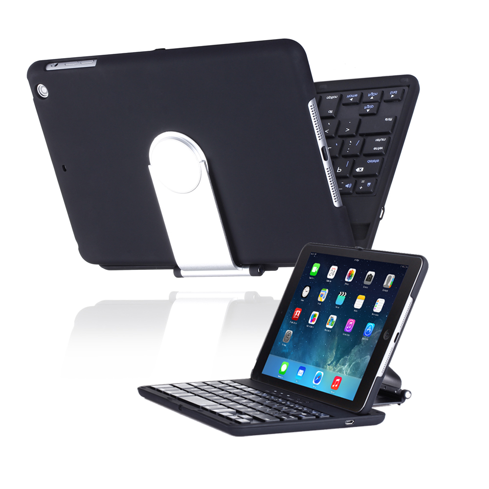 CE Compass iPad Mini 2 Keyboard Case 360 Degrees Rotating Stand Leather Case Cover for Apple iPad mini 7.9 inch Tablet With Auto Wake at Sears.com