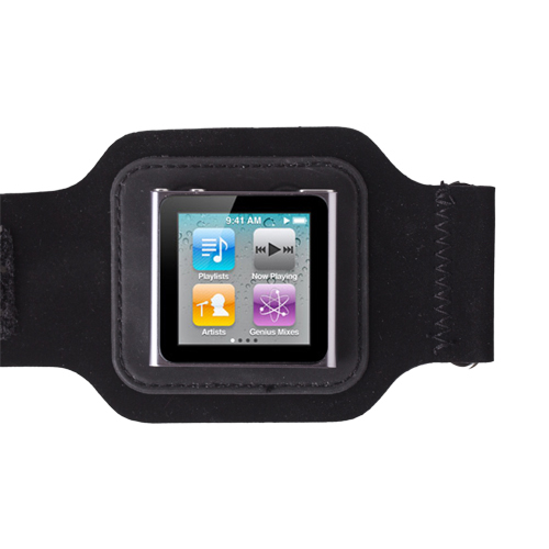 Black Sport Gym Armband Case Pouch Skin Cover for Apple ...