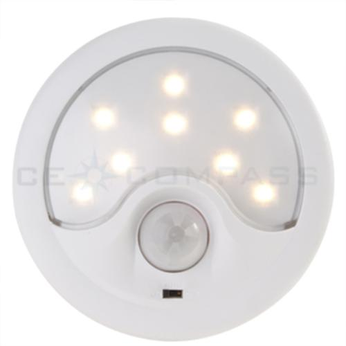 wireless led motion detector sensor night light lamp. Black Bedroom Furniture Sets. Home Design Ideas