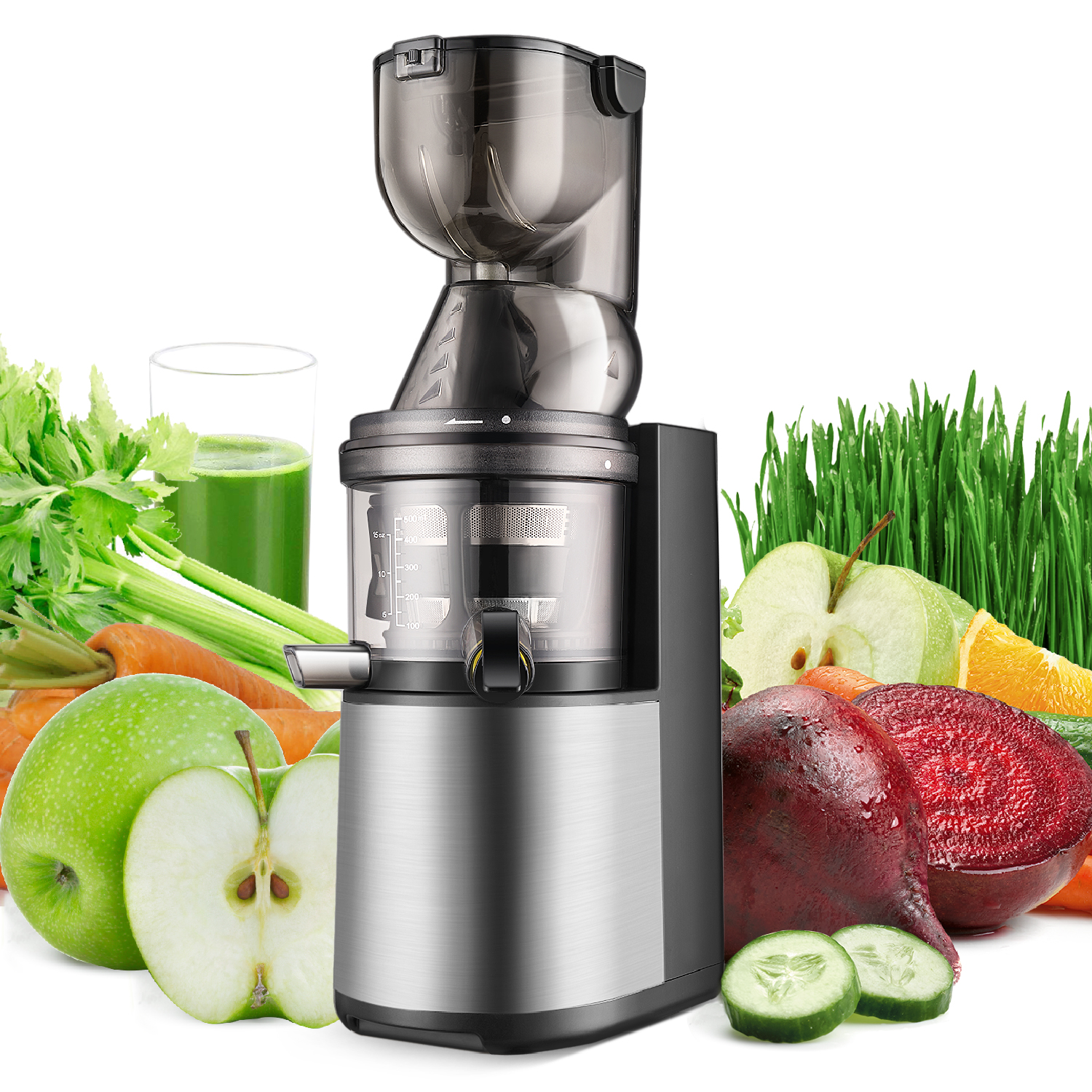 cold press juicer machine masticating slow juice extractor maker fruit vegetable ebay. Black Bedroom Furniture Sets. Home Design Ideas