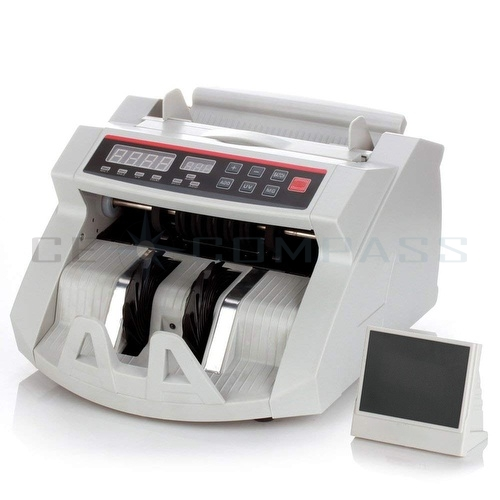 money counting machine counterfeit detector