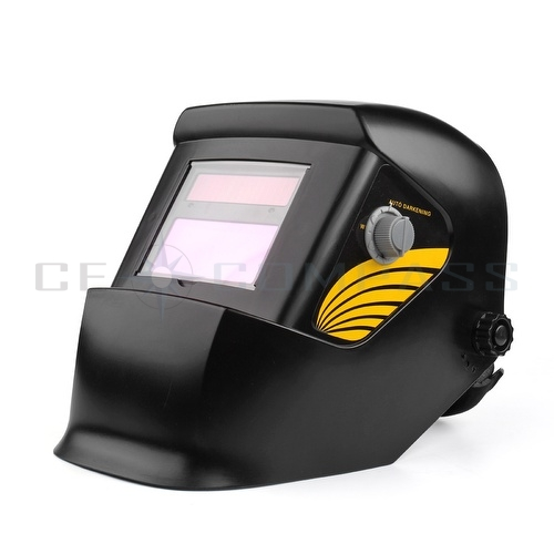 solar powered welding helmet auto darkening skull face mask arc tig mig grinding ebay. Black Bedroom Furniture Sets. Home Design Ideas