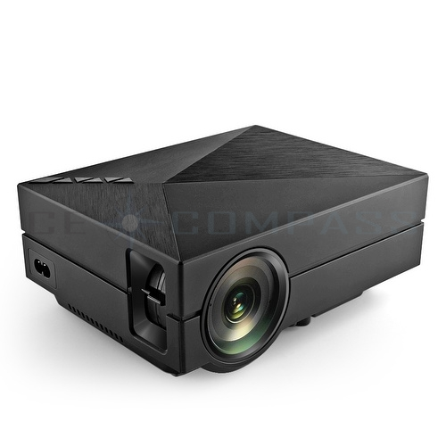 130 mini led projector 1000 lumens portable home cinema for Mini usb projector for mobile