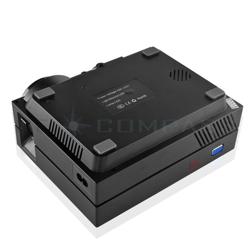 130 034 mini led projector 1000 lumens portable home for Mini usb projector for mobile