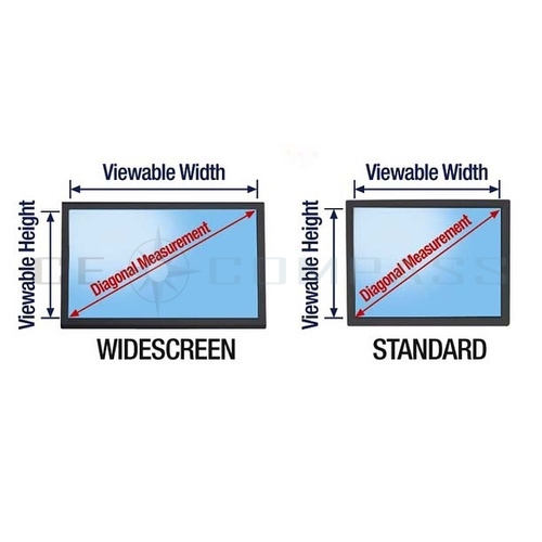 Screen data is visible only to persons directly in front of the monitor, and up to 45 degrees away from the center of the screen
