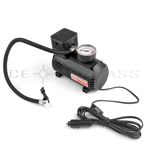 12v car auto electric portable pump air compressor tire inflator tool 250 psi ebay. Black Bedroom Furniture Sets. Home Design Ideas