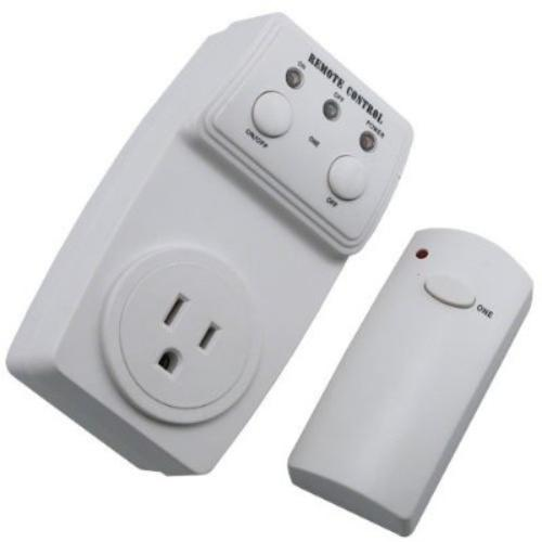 remote control outlet wireless ac power outlets light. Black Bedroom Furniture Sets. Home Design Ideas