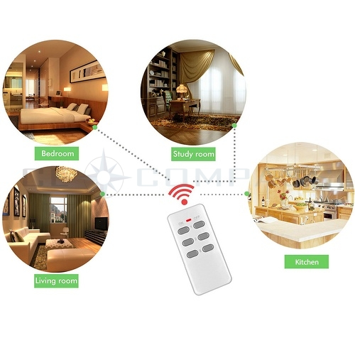 wireless remote control ac power outlet plug switch ebay. Black Bedroom Furniture Sets. Home Design Ideas