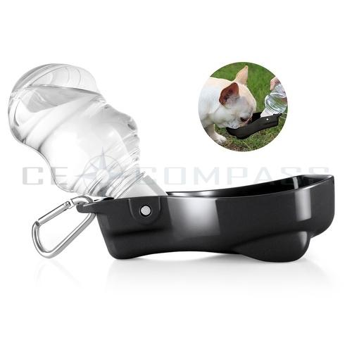 17 Oz Portable Travel Dog Water Bottle: Portable Pet Water Bottle Dispenser For Dog Cat Compact