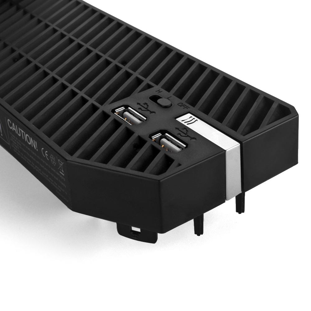 External Usb Cooling Fan Cooler With 2 Usb Hub Ports For