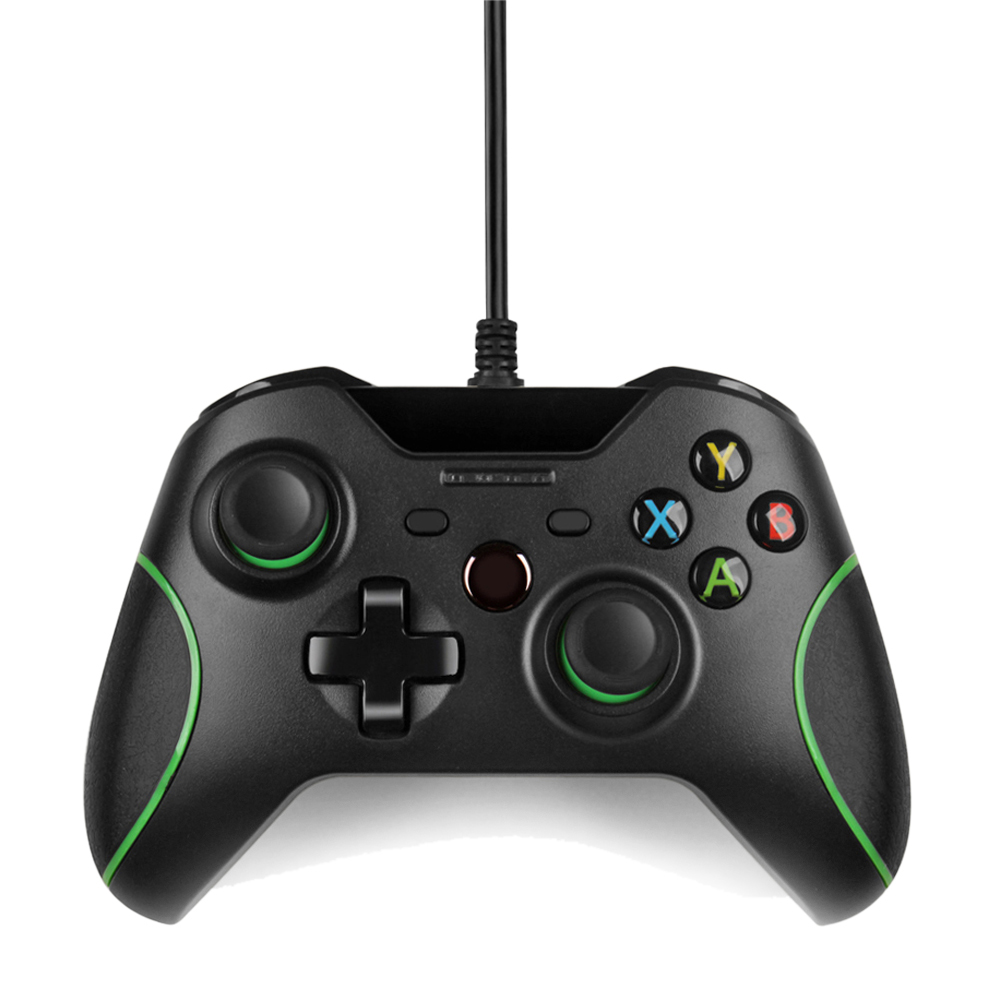 Xbox One Controller Usb Wired Gamepad For Pc Windows Joys...