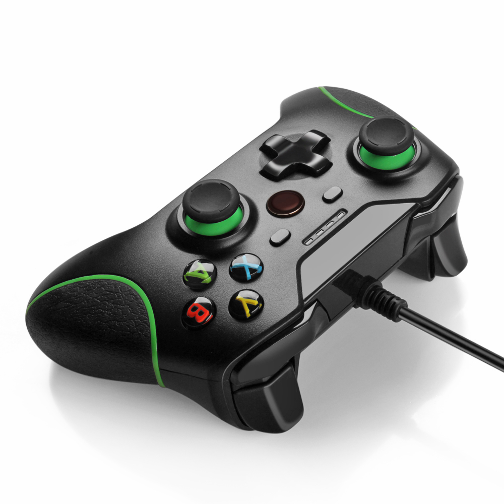 XBox One Controller USB Wired Gamepad For PC Windows Joystick Joypad ...