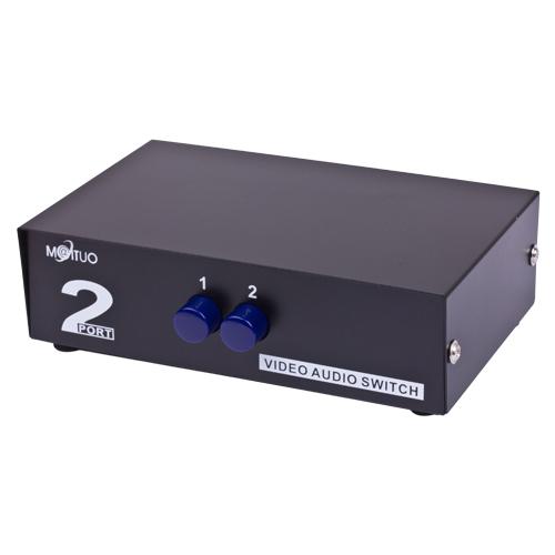2-way Stereo A//V Selector