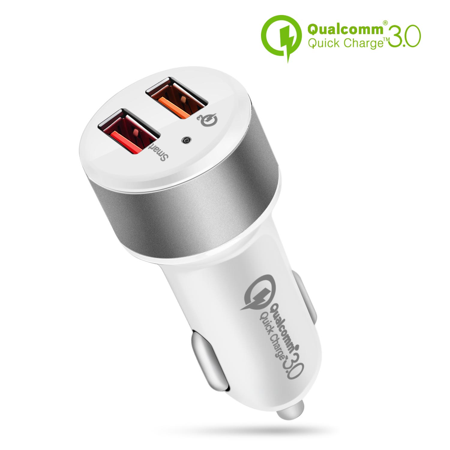 Quick Charge 3.0 Car Charger Galaxy S20 S10 S9 S8 S7 Note LG Nexus etc. Compatible with Any iPhone 18W//3A Single USB Port QC 3.0 Car Charger Adapter
