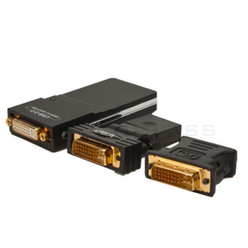 UGA USB to DVI VGA HDMI Multi Display Graphics Adapter