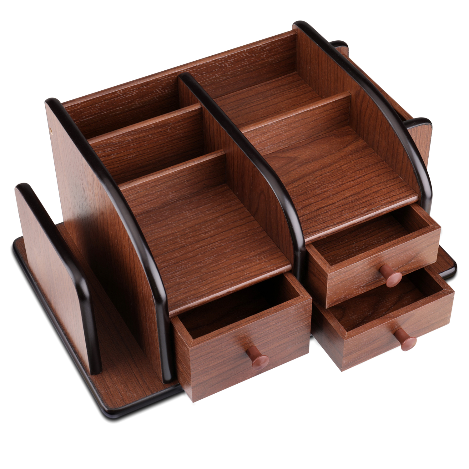 Slide-Out Drawer - Features 3 drawers which you can pull out smoothly and goes right back easily for secure and expandable storage that's right there when you need it