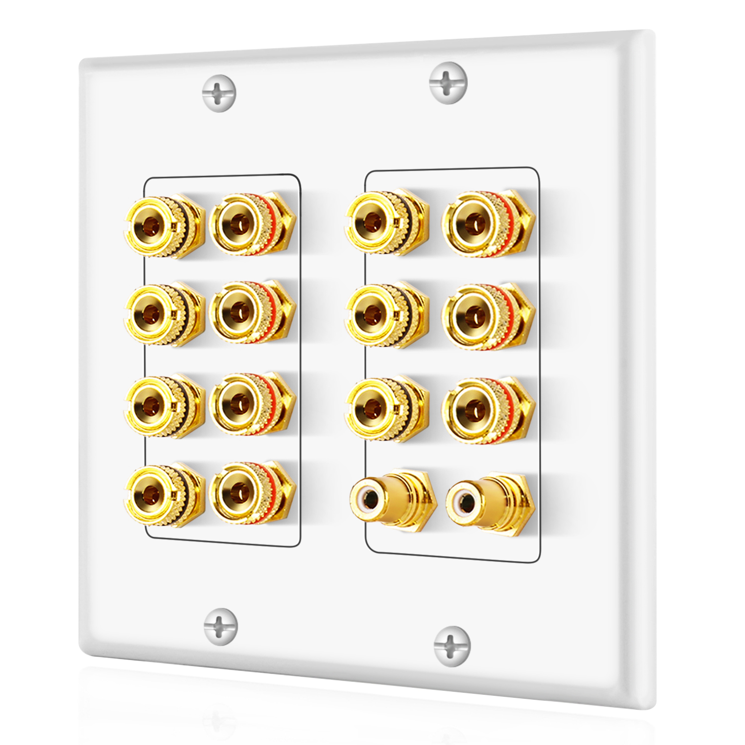 home theater wall plates home theater speaker wall plate outlet 7 2 7 1 banana 180